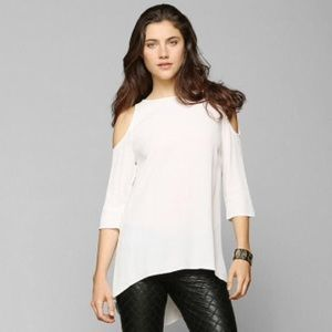 SPARKLE FADE COLD SHOULDER TUNIC